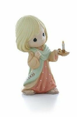 Precious Moments May Your Faith Light The Way 2009 Dated Figurine 910001