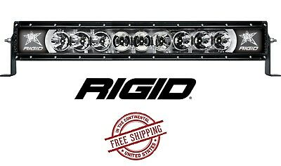 Rigid industries radiance plus 20 blue back light led light bar rigid industries radiance plus 20 led light bar broad spot white back light aloadofball Image collections