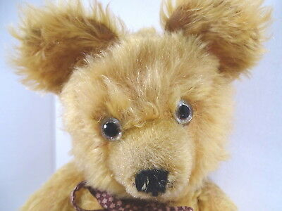 c1930 Richard Diem German Teddy Bear Gold Mohair Rare Collectors Bear