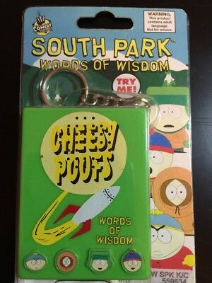 SOUTH PARK WORDS WISDOM VOICE TALK BOX STAN KENNY KYLE CARTMAN Cheesy Poofs NEW!