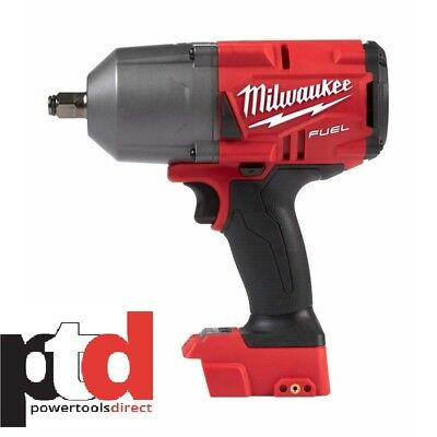 New Milwaukee M18 18V Fuel Cordless M18Fhiwf12-0 Impact Wrench (Friction Ring)