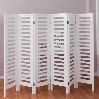 MODERN 6 PANEL Room Divider Privacy Folding Screen Home Office