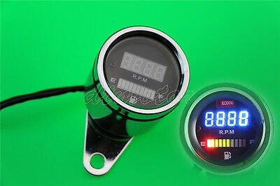 LED Tachometer Fuel Gauge For Yamaha Road Star Warrior Midnight XV 1600 1700