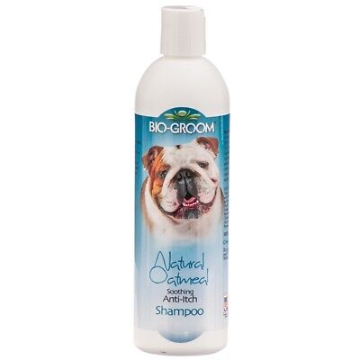 Bio-Groom Natural Oatmeal 12 oz   Soothing Anti-Itch Shampoo   For Dogs and Cats