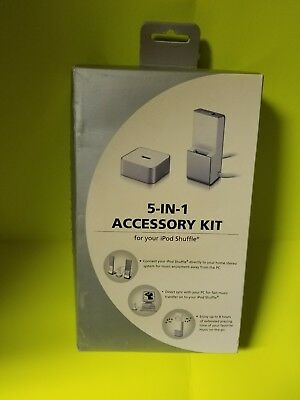 5-in-1 accessory kit for your Apple ipod shuffle