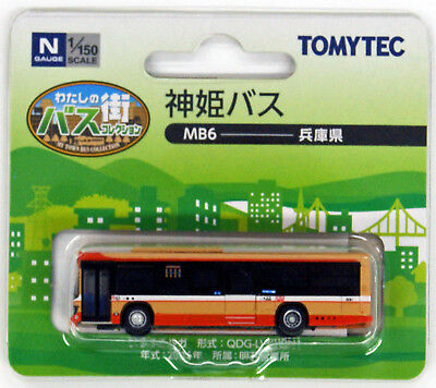 Tomytec My Town Bus Collection 'Shinki Bus (Hyogo)' (MB6) 1/150 N scale