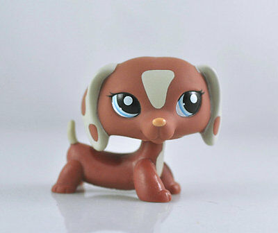 Pet Dachshund Dog Collection Child Girl Boy Figure Littlest Toy Loose LPS827
