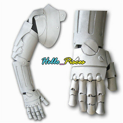Exclusive Fullmetal Alchemist Edward Elric Right Arm Armour EVA Cosplay Prop