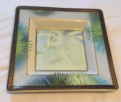 Boxed Collectors Rosenthal Jungle Versace ashtray plate dish