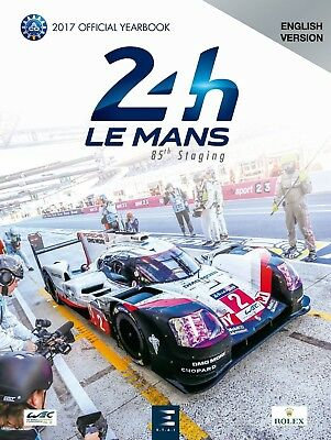 Le Mans 2017 Yearbook (Free Uk Postage)