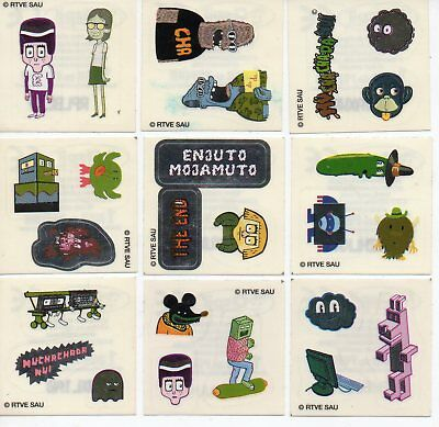 Muchachada Nui - La Hora Chanante Set Of 25 Stickers By Aspil / Joaquin Reyes
