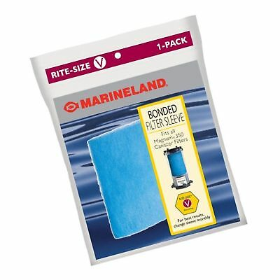 MARINELAND PA011403 Bonded Filter Sleeve for Magnum 350 Canister
