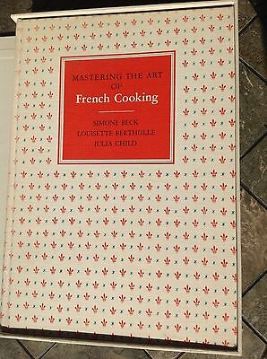 SIGNED Mastering the Art of French Cooking JULIA CHILD Rare 1st Ed 1st Printing!