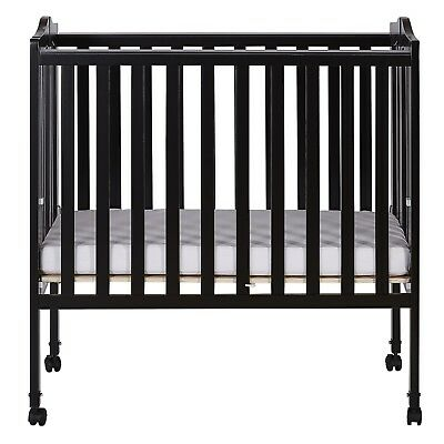 OpenBox Dream On Me 2 in 1 Lightweight Folding Portable Stationary Side Crib