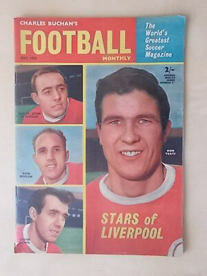 Football Monthly Magazine May 1963 - Liverpool - Tottenham
