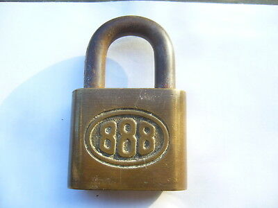 Vintage Brass Padlock Made in Germany - no Key