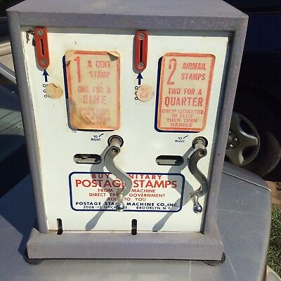 Vintage Stamp Machine