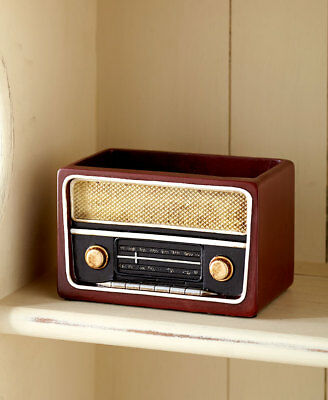 The Lakeside Collection Retro Radio Pencil Holder