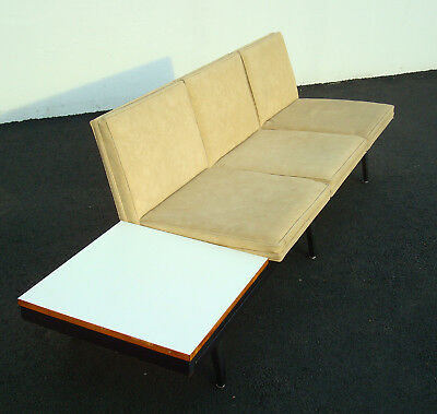 Vintage Mid Century George Nelson For Herman Miller Steelframe Modular Sofa