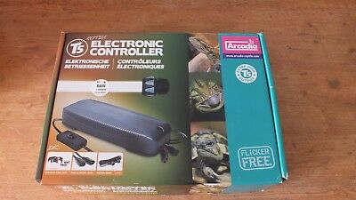 Arcadia T5 Electronic Controller 54W Single Light Unit Ultra Seal