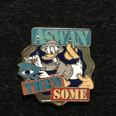Adventures by Disney Aswan & Then Some Donald Duck Pin Egypt Tour