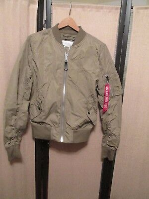 2469afaff93 Alpha Industries L-2B Dragonfly reversible Bomber Jacket stratos  lightweight XS