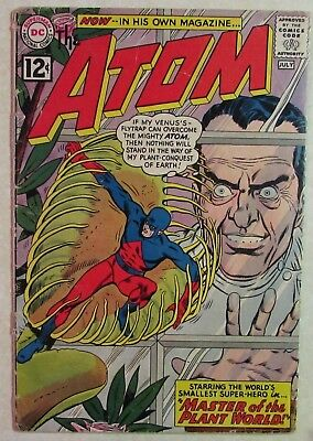 DC Comics - The Atom #1 - Key Silver Age Issue - 1962 - Priced Under Guide