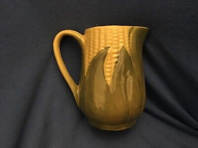 Vintage SHAWNEE Corn King Creamer #70 Cream Pitcher Queen EUC Art Pottery