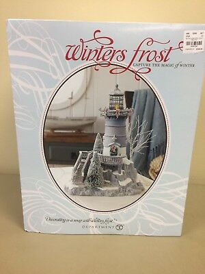 Dept 56 Winters Frost Lighthouse #809459 2011 NIB