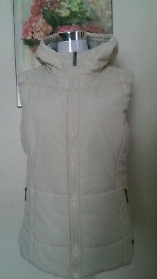 Bench Urbanwear Hooded Zip Up Vest Size L
