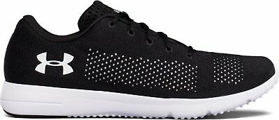 Under Armour Men's UA Rapid Running Shoes BLK/ WHT/ WHT(1297445-001)