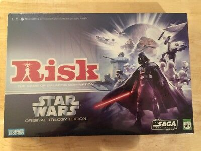 Risk Star Wars Original Trilogy Edition New And Sealed! Never Opened! Rare!