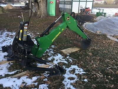 John Deere 48 Backhoe Attachment with weldments to fit a John Deere 5105 or 5205