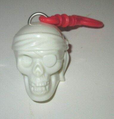 Kellogg's Cereal Disney Pirates Of The Caribbean Light Up Skull Backpack Clip
