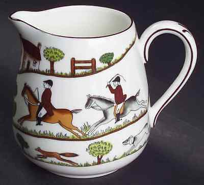 Crown Staffordshire HUNTING SCENE Creamer 5818227