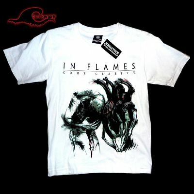 Inflames - White Come Clarity - White Band T-Shirt
