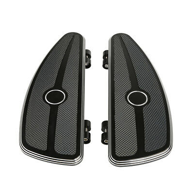 Half-Shield Rider Footboard Kit For Harley Touring Trike FL Softail Deluxe FLD
