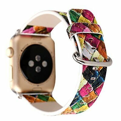 Watch Band For Apple Series 1/2/3 Stylish Leather Replacement Strap-42mm Rural