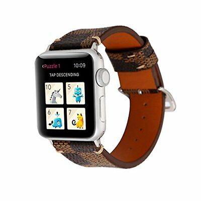 Watch Band For Apple Series 1/2/3 Stylish Leather Replacement Strap-42mm Boxes