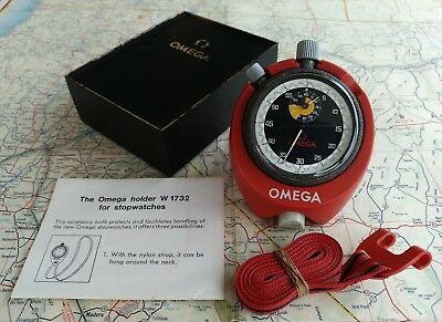 Extremely Rare New Old Stock Omega 60 Min Addition Stopwatch Heuer Autavia Rally
