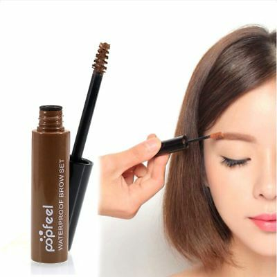 Waterproof Korean Eyebrow Tattoo Mascara Dye Cream Long Lasting Gel Brow Makeup