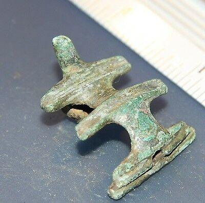 Ancient Ornament Decoration Bronze Fibula Brooch