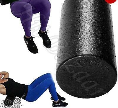 FOAM ROLLER MASSAGER High Density Physical Therapy Back Massage Trigger Extra Fi
