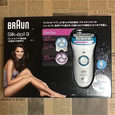 Braun SE9961-E Silk Epil9 Wet Dry Cordless Beauty Care for Women F/S w/Tracking#