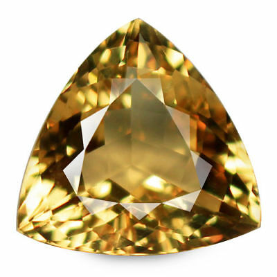 10.26ct Flawless 100% Natural earth mined extremely rare aaa golden yellow beryl