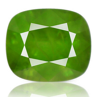 20.09ct 100%Natural earth mined extremely rare green apple color sphene titanite