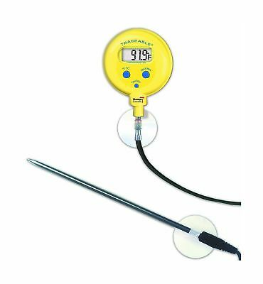 Thomas Traceable Waterproof Thermometer with Probe/Cable -50 to 300 degree C