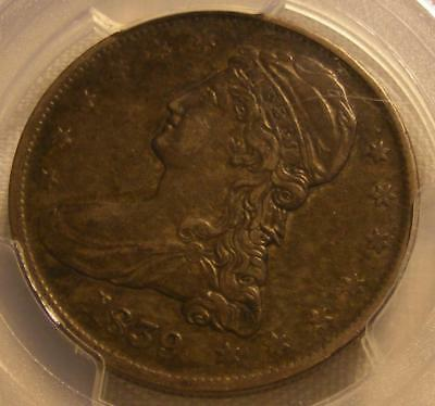Nice 1839 Reeded Edge Capped Bust Half Dollar PCGS VF 30 Large Letters