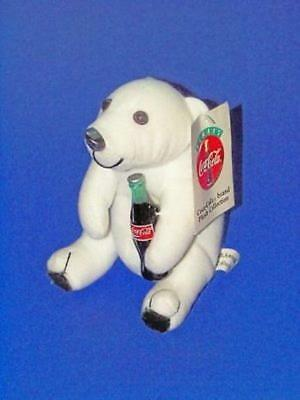 Coca-Cola Polar Bear Holding A Coke ~ New ~ Lot 2