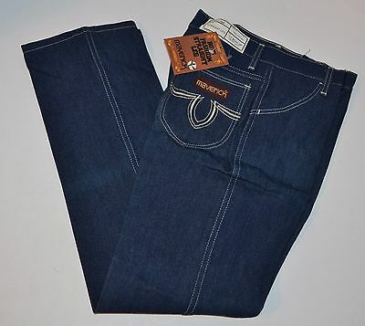 VINTAGE New Maverick (Blue Bell) Boys Fashion Straight Leg jeans 12 Regular